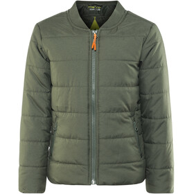 Meru Woodburn Padded Bomber Jacket Boys Forest Night